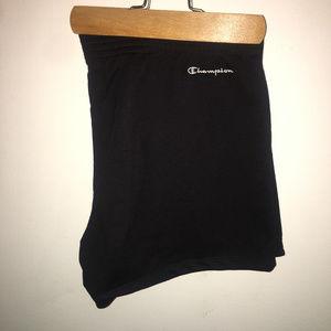 black champion cotton shorts Xl fit like L